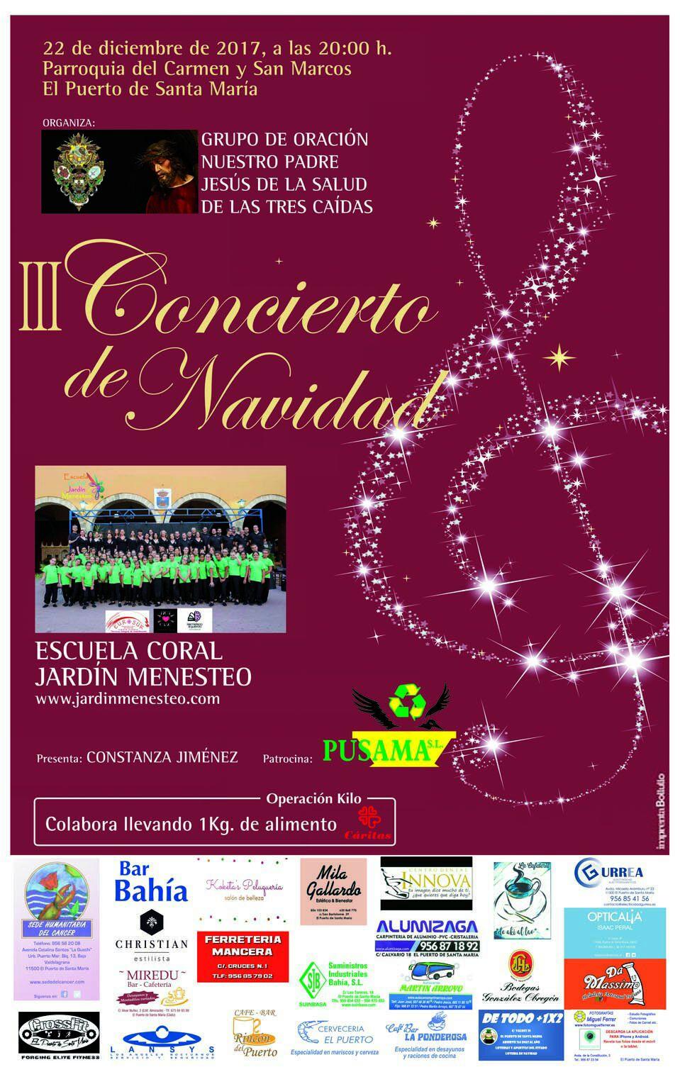Concierto Navidad ECJM 2017